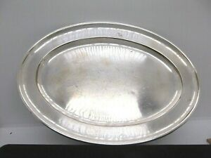 Elkington Silver Plate Oval Tray 9 X 6 5 Inches A T Wiley Co Montreal 1912