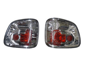 2001 2003 Ford F150 Chrome Flare Side Tail Light Altezza