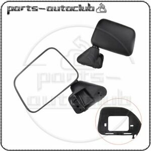 Manual Side View Mirrors Left Right Pair Set For Toyota Pickup 4runner W Vent