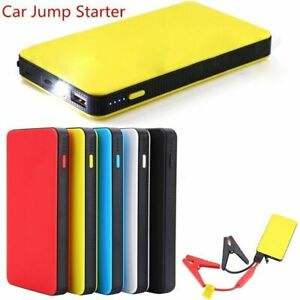 20000mah Portable Car Jumper Cable Starter Engine Battery Charger Power Bank