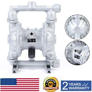 Air operated Double Diaphragm Pump Qbk 25l Pneumatic 1 2 Inch Air Inlet 115 Psi
