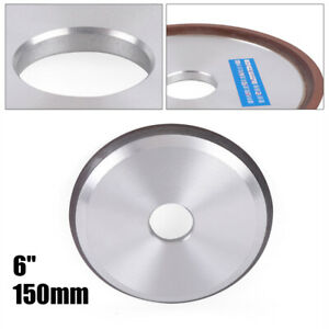 Resin Diamond Grinding Wheel 6 Carbide Grinder Disc Cutter Sharpener Wheel Cup