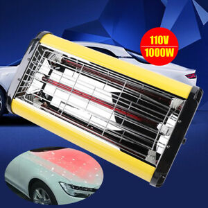 Spray Baking Booth Infrared Paint Curing Lamp Heating Light Heater 1000w Sale