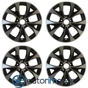 Honda Civic 2012 2013 2014 17 Oem Wheels Rims Full Set