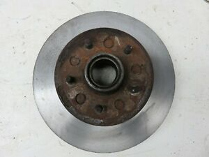 Pair Original 1969 1982 Corvette Front Rotors Hubs Made In Canada