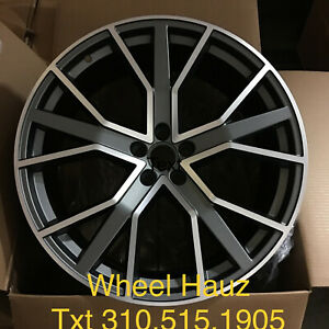 22 Rims For Audi Q7 Q5 Set Of 4