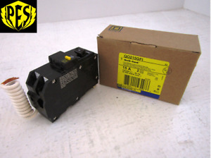 Nib Square D Qo215gfi 2 Pole 15 Amp Qo Ground Fault Breaker Gfci Qo Style