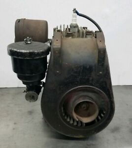Vintage Briggs Stratton 6s Reel Mower Gas Engine Running Condition Free S h