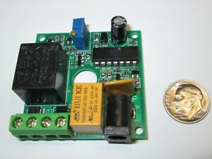 Timer Pc Board Using Ne556n Ic 2 Relays 12vdc Nos