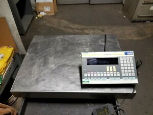 Sartorius 300 Kg High Accuracy Industrial Floor Scale 31 1 2 X 23 1 2 Is300igg