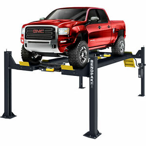Bendpak Open Front Alignment 4 post Vehicle Lift 14 000 lb Cap Model Hdso14ax