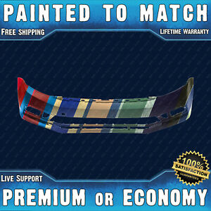 New Painted To Match Front Bumper Replacement For 2015 2018 Volkswagen Vw Jetta
