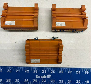 lot Of 3 Weidmuller 91242 Terminal Blocks W 50 pin Dsub Connectors warranty