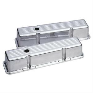 Summit Racing Die cast Aluminum Valve Covers G3303 Chevy Sbc 283 305 350 400