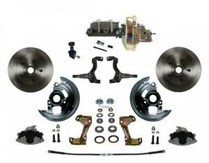 Leed Brakes Fc1002 e105 Disc Brake Kit Front Conversion Power Assist Solid