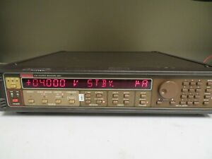 Keithley Mdl 236 High Voltage Current Source measure Sourcemeter System Nw2