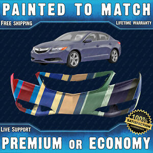 New Painted To Match Front Bumper Replacement For 2013 2015 Acura Ilx 13 15