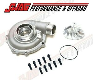 03 07 Ford 6 0l 6 0 Powerstroke Diesel Turbocharger Compressor Housing Upgrade