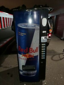 Soda Vending Machine 7 Slot Selection Redbull Logo Nice