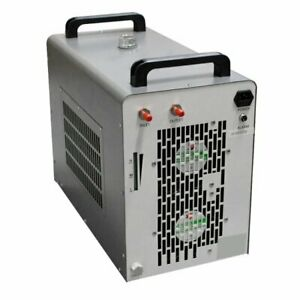 110v 60hz Cw 5200dg Industrial Water Chiller F Co2 Laser Tube Engraving Machine