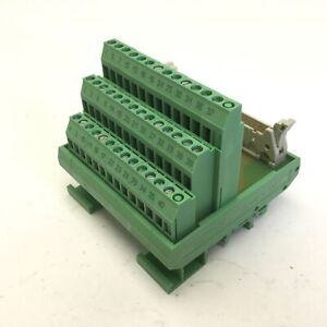Phoenix Contact Flkms 40 Terminal Breakout Block Interface Module 2281584