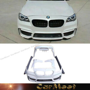 For 11 16 Bmw F10 Sedan Tune To M4 Look Front Back Bumper Parts Unpainted Gray