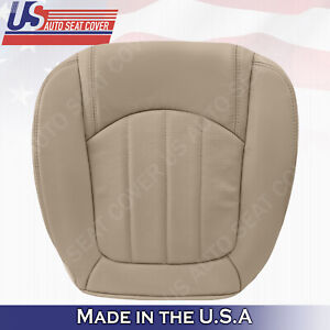 2008 To 2012 Buick Enclave Driver Side Bottom Replacement Leather Seat Cover Tan