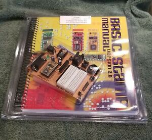 Parallax Basic Stamp 2 Bs2p24 ic Professional Starter Kit W bs2p Demo Board New