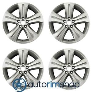 Toyota Highlander 19 Factory Oem Wheels Rims Set Machined With Charcoal