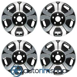 Honda Civic 2012 2013 2014 2015 15 Oem Wheel Rim Set Machined Black