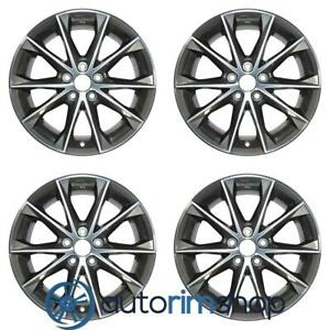 Toyota Camry 2015 2017 18 Factory Oem Wheels Rims Set