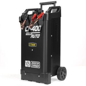 Automotive Battery Charger Wheeled Dead Portable 300amp Jump Start Heavy Duty