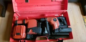 Hilti Te 7a Cordless Rotary Hammer Drill With Hilti Drs Dust Extractor
