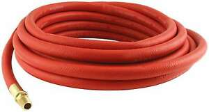 Allstar Performance 10526 Air Hose 3 8 Id 25 Ft Long Rubber brass In Red