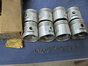 Nos 1932 1936 Ford Flathead V8 Sterling Pistons 030 Over P 1 1933 1934 1935