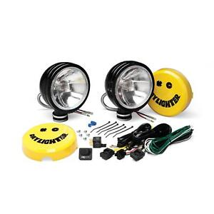 Auxiliary Lights Daylighter 6 Spread Black 100w Sys pr