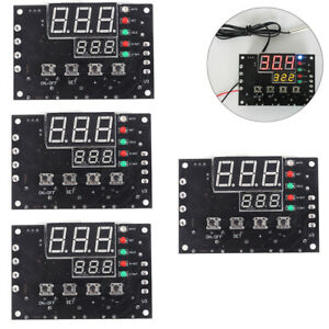4pcs Xh w1504 Tec Semiconductor Cooler Smart Thermostat Temperature Controller