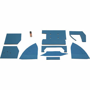 K M Pre cut Cab Foam Kit For Ford new Holland Tractors Model 4115