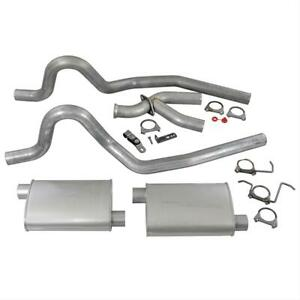 Summit Exhaust System Cat back 2 50 Rear Exit Steel Y pipe Ford Mustang 3 8l