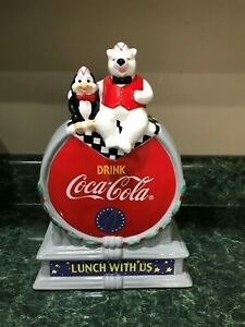 2001 Authorized Collection Coca Cola Cookie Jar