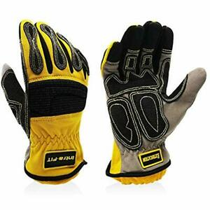 Intra fit Impressive Extrication Gloves Cut Resistant Work Protective Oil And