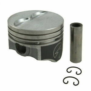 Sealed Power Flat Top Pistons For Sbc 350 V8 4 040in Bore
