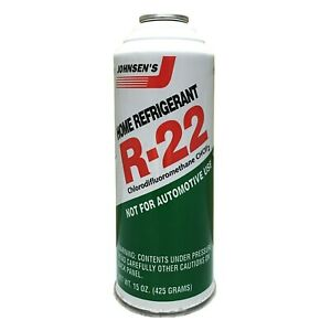 1 15oz Can Of Johnsens R 22 R22 Home Ac Air Conditioning Refrigerant