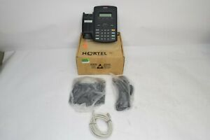 New Nortel Avaya 1210 Ip Office Desk Phone ntys18bb70e6 Poe Lcd Open Box