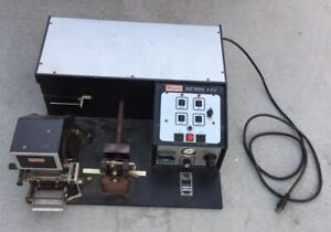 Kingsley Electronic E 312 Hot Foil Stamping Machine