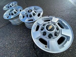 17 Chevrolet Silverado 2500 Hd Sierra Oem Factory Stock Wheels Rims 8x180 Gmc