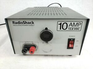 Radio Shack 10a 13 8v Regulated Linear Power Supply Cat No 22 506 Tested