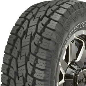 4 New P255 70r16 Toyo Open Country At Ii 255 70 16 Tires
