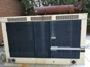 Kohler 95kw Backup Generator Enclosed Natural Gas Propane lp