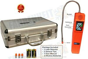 Refrigerant Digital Leak Detector With Metal Case Cpu c